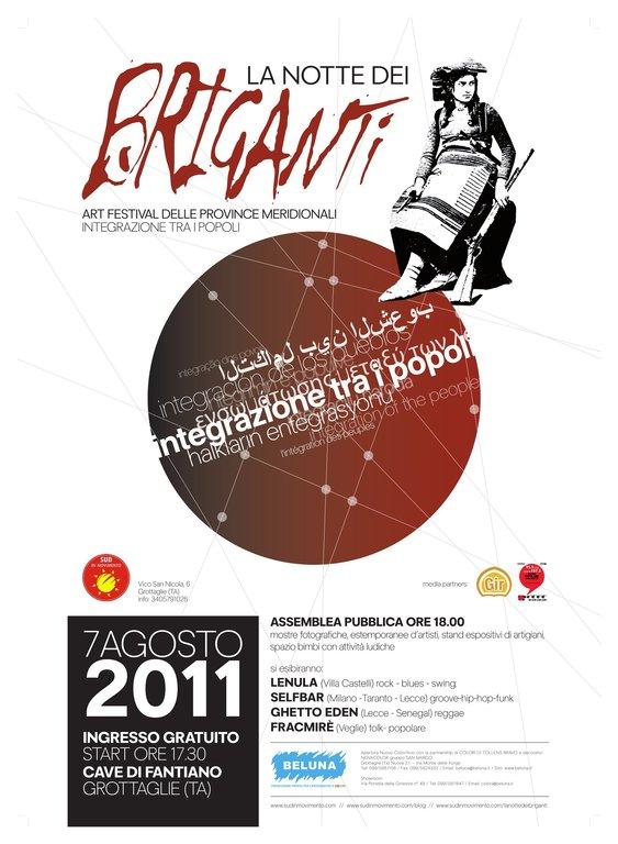 La Notte dei Briganti 2011 – Integrazione tra i Popoli