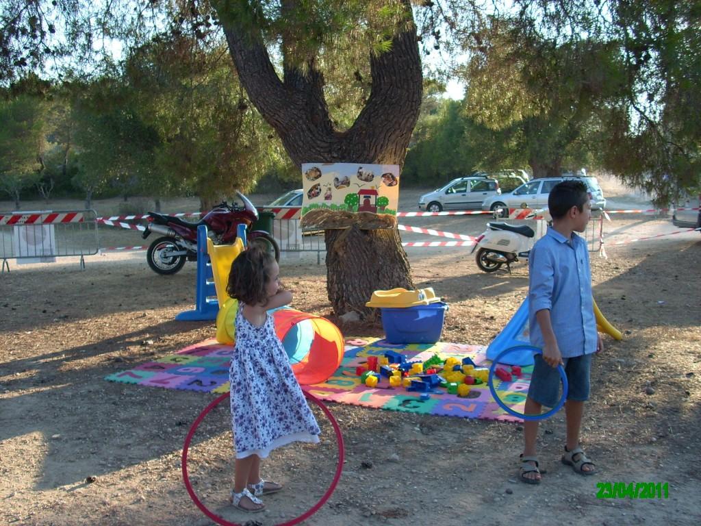 Tante attività di intrattenimento per i nostri piccoli briganti….